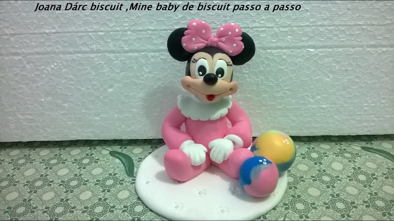 Mine baby de biscuit,passo a passo,video rapido
