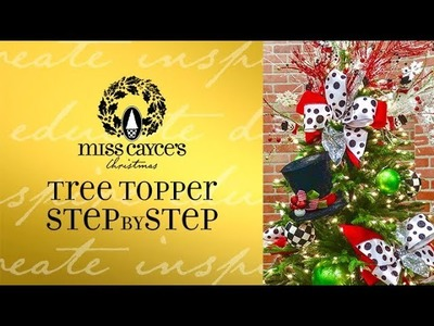 Miss Cayce's How To: Christmas Tree Topper