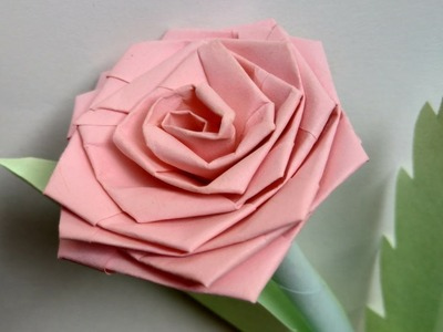 Paper art - Rose flowers design and craft