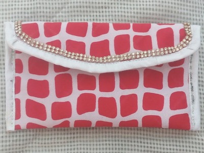 Party clutch   cutting and stitching ll Wallet  with pocket cutting and stitching #ShreeBhagwati