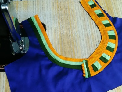 Patch work blouse designs cutting and stitching    Blouse neck Patterns