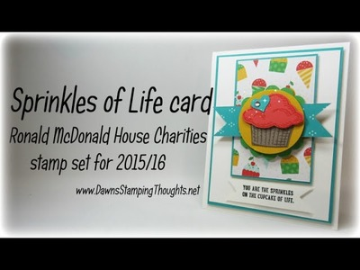 Sprinkles of Life card with Dawn
