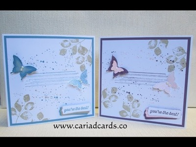 Stampin Up Kinda Eclectic and Gorgeous Grunge Card