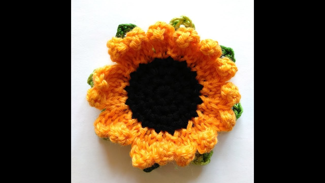 """Sunflower"" headband pattern: crochet petal"