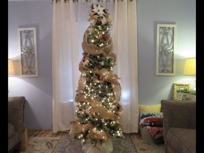 Tricia's Christmas: My Tree Part 1:  Bow Topper, Bows, and Streamers