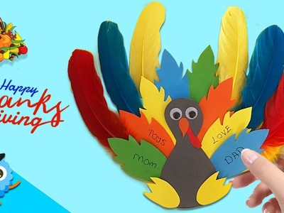 Turkey Paper Craft for Thanksgiving Day | Easy DIY Paper Crafts [4K]