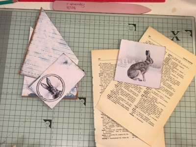Tutorial: Simple corner pockets for your journal A winters tale by ARTYmaze no 6