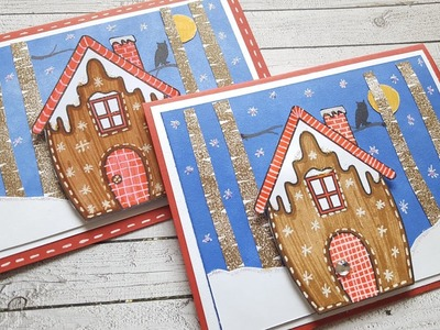 Winter Forest Gingerbread House | Blog DT Project