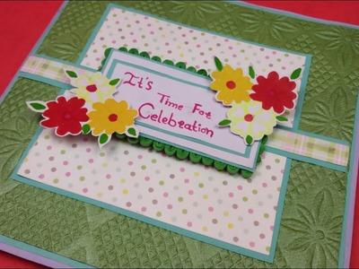 Beautiful Greeting card for Birthday,DIY Birthday Cards for best friends,Handmade Birthday card idea
