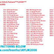 ChocoLate Lab Cross Stitch Pattern***L@@K***
