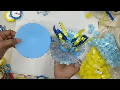 DIY   How to Make Baby Shower Matki Decoration