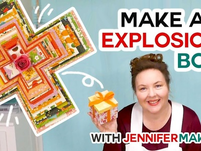 Easy Explosion Box Card Tutorial for the Cricut (with free SVG file!)