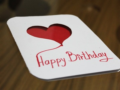 How to make greeting card at home - Birthday cards handmade