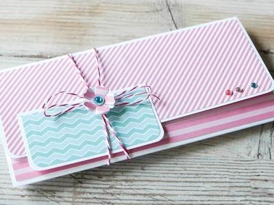 How to make : Lovely Greeting Card | Urocza Kartka Okolicznościowa - Mishellka #320 DIY