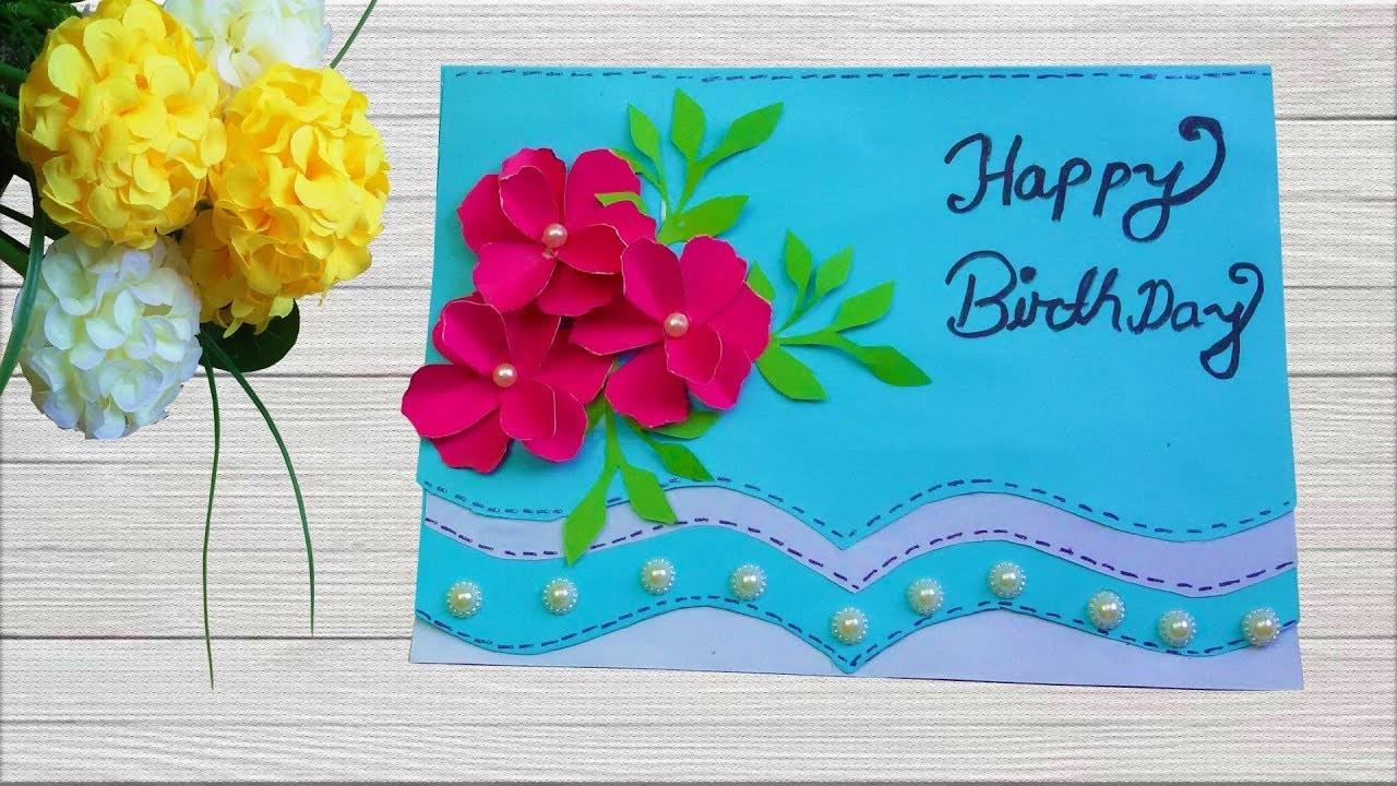 most beautiful handmade birthday card making birthday