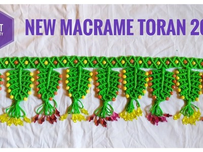 New design Macrame Toran Door Hanging tutorial  2019