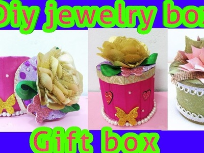 Tape roll gift box tutorial. valentine day gift box. best out of waste.Amazing diy ideas
