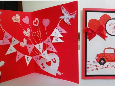 Valentine Day Special Card.Handmade Greeting Card for Valentine's Day.Valentine Day Card Ideas
