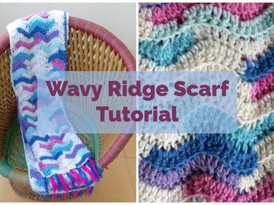 Wavy Ridge Scarf Tutorial by Akshaya Bhaskar | Pradhan Online Embroidery Wool and Yarn Store India