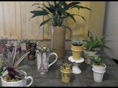 DIY: Re-Purpose Thrift Store Finds into Creative Planters & Plant Pots ????