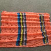 Crochet baby pram rug