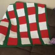 Rabbitohs lounge throw rug