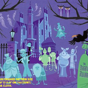 Haunted Mansion Cross Stitch Pattern***LOOK*** ***INSTANT DOWNLOAD***