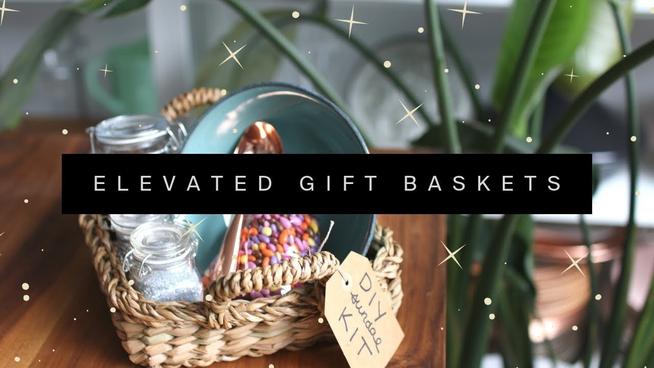 8 Creative & Elevated Gift Basket Ideas ✨