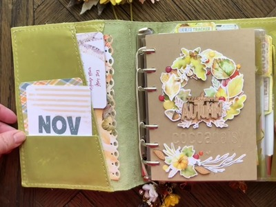 November Planner Set-Up and Flip-Through