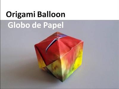 #Origami Balloon Ornament - Globo de Papel