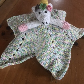 Unicorn lovey