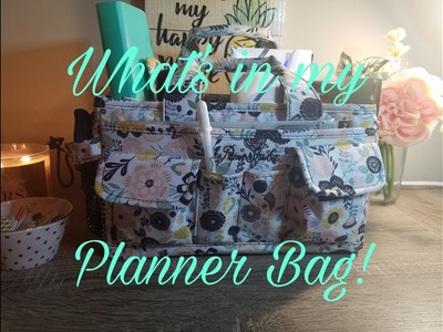 What's in my Planner Bag!