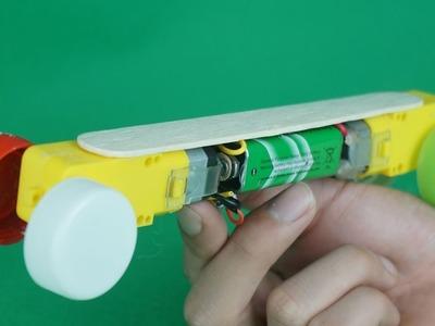 3 Amazing Ideas DIY TOYs with 1$-DC-Motor