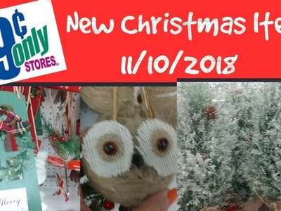 99 Cent Only Store New Christmas Items 11.10.2018