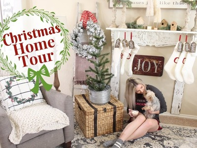 CHRISTMAS HOME TOUR | FARMHOUSE CHRISTMAS DECOR