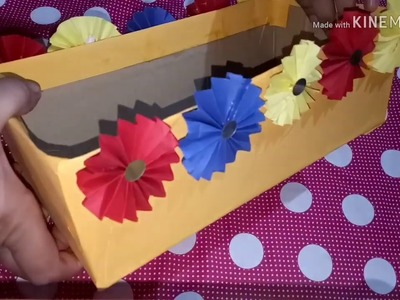 Decoration idea with shoes box for kids very easy || organizer for kids ||