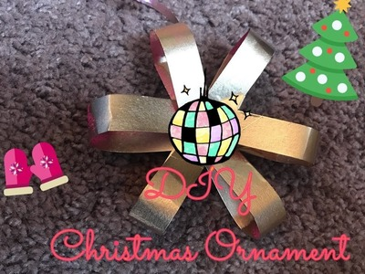 DIY Christmas Ornament # 2 | Best out of waste 2018