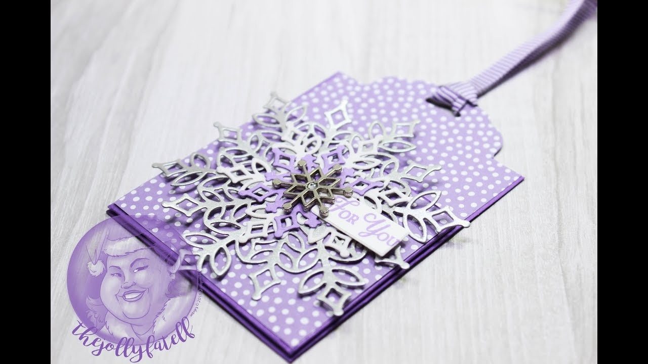 Gift Card Holder Ornament 2018 Holiday Card Series Day 10