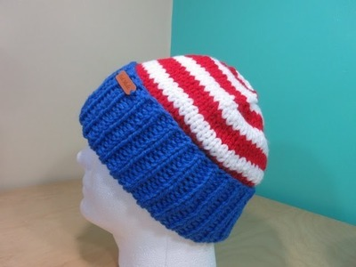 How to knit a hat my country version 2