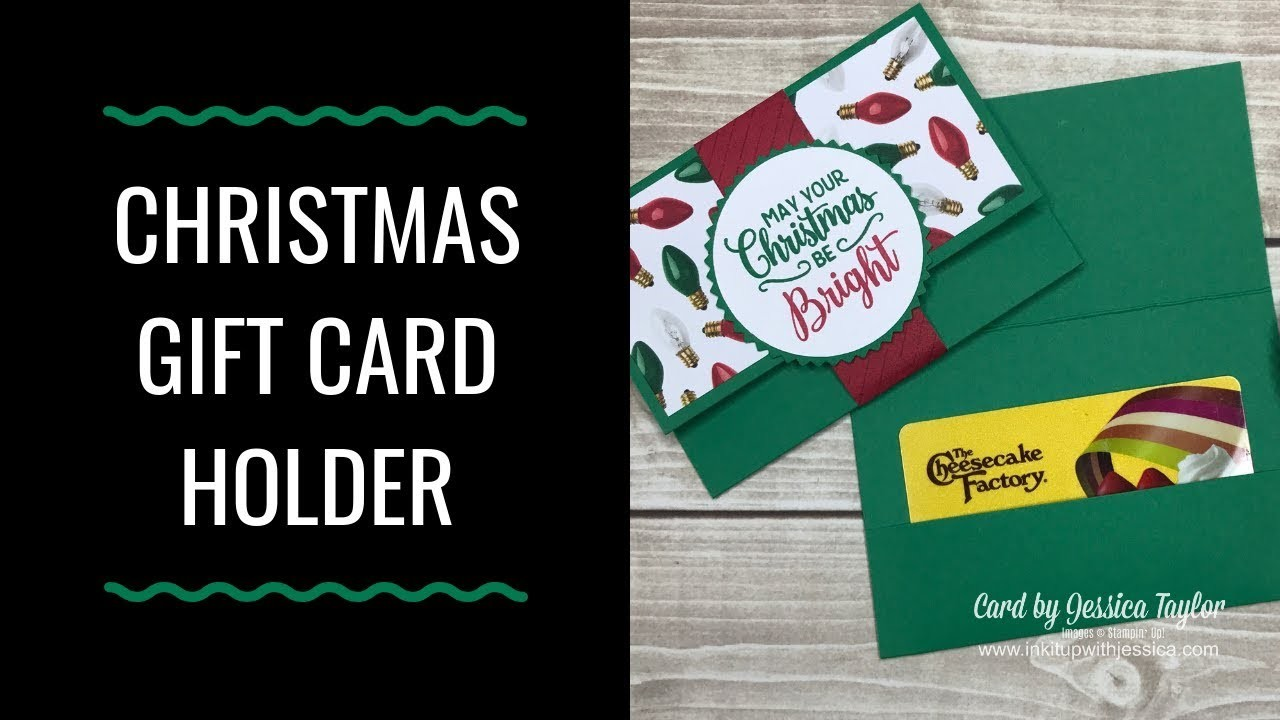 How to Make Gift Card Holders