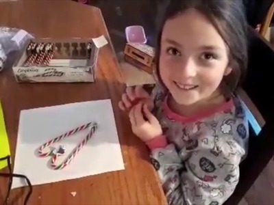 JOANNAS CANDY CANE HEARTS!!! AMAZING KIDS CRAFT!!!! HOLIDAY CHEERE
