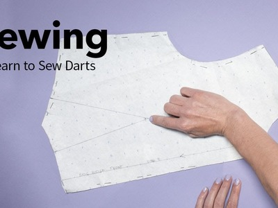 Learn to Sew a Dart Using a Basic Bodice Pattern