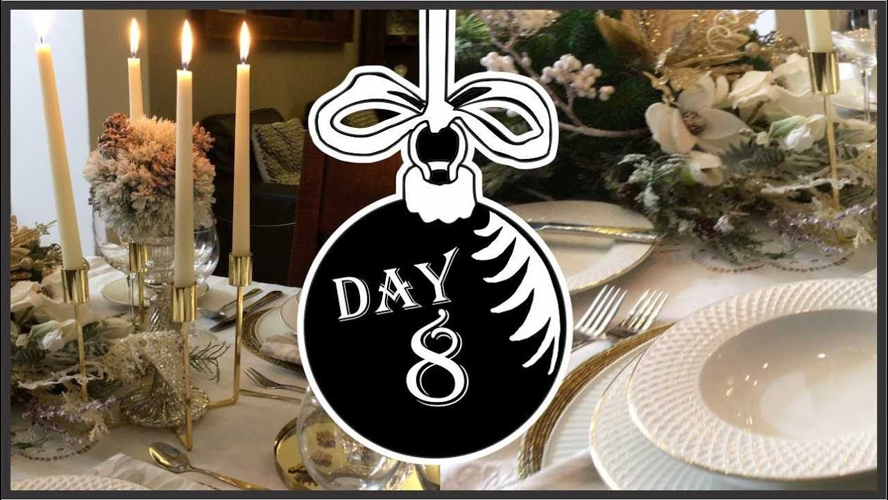 My Christmas My Style 2018 Collaboration | Winter Wonderland Table Setting Day 8