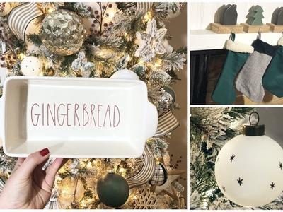 Part 3 HUGE Christmas Decor Haul + Giveaway   Dollar Tree Target Dollar Spot Rae Dunn
