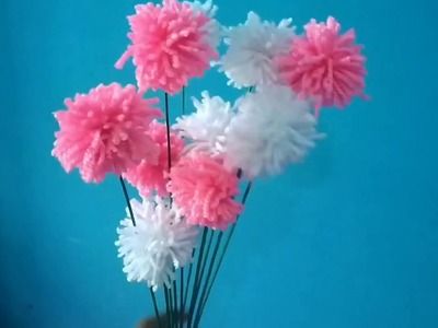 WOW!!! Best idea for valentine's Day room decoration with best out of waste glass bottle and wool