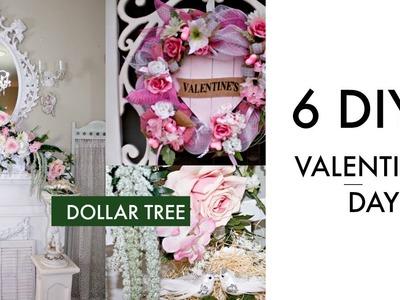 ????6 DIY DOLLAR TREE VALENTINES DAY DECOR CRAFTS ???? DECO MESH WREATH, SPRING BRIDAL GARLAND CENTERPIECE