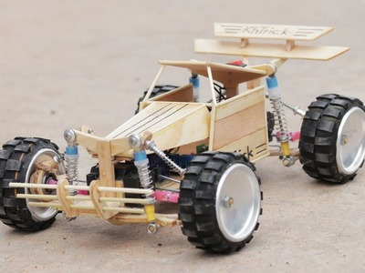 Amazing DIY! How To Make RC Monster Truck 4x4 Car Toy At Home