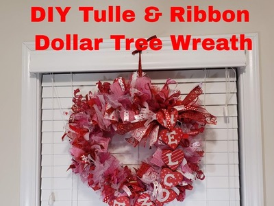 Craft With Me Valentine's Day WREATH