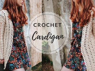 Crochet Cardigan Tutorial