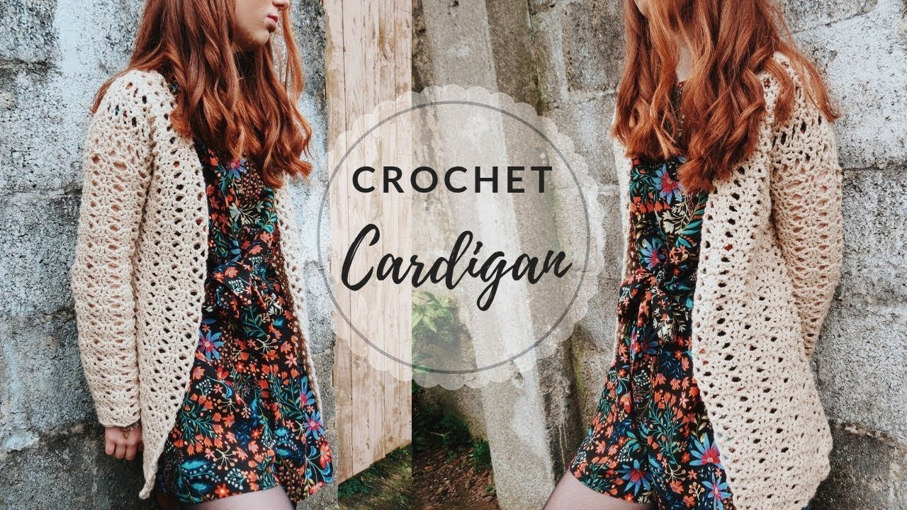Crochet Cardigan Tutorial
